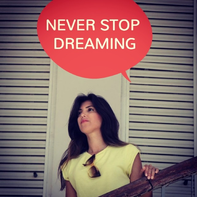 Never Stop Dreaming Photo Credit Inbald Quotes
