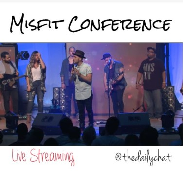Live Streaming this awesome conference www misfitnyc com #firsttimer
